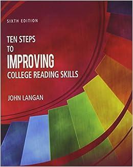 Amazon.com: Ten Steps to Improving College Reading Skills ...