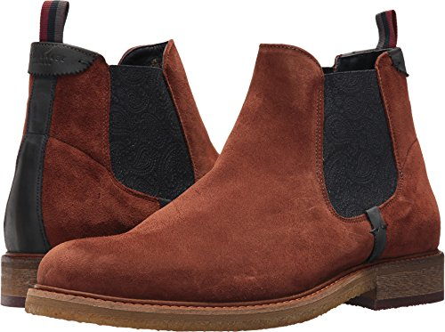 Ted Baker Men's Bronzo, Dark Tan Suede, 13 M Us