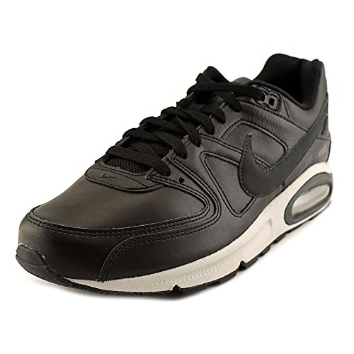 Nike Hommes Chaussures En Cuir Commande Air Max Noir