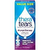 Thera Tears Lubricant Eye Drops - 1 Oz