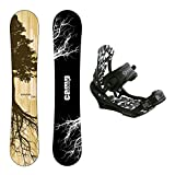 New 2018 Camp Seven Roots CRC Snowboard +APX Bindings Men's Snowboard Packages