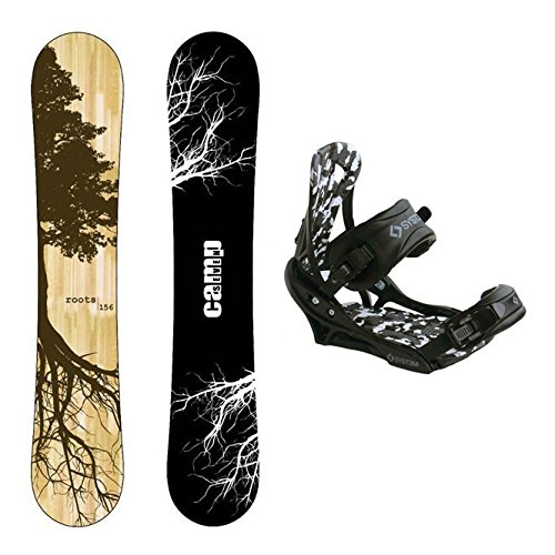 Camp Seven New Roots CRC Snowboard +APX Bindings Men's Snowboard Packages