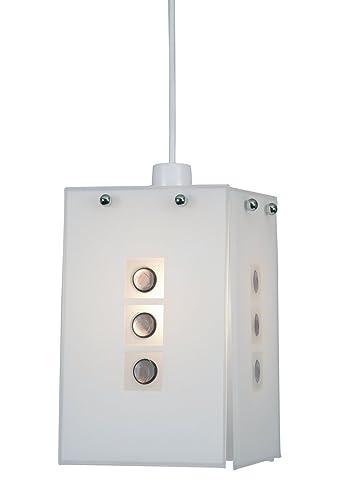 Oaks Lighting Muro - Lámpara de techo, diseño cuadrado con ...