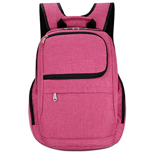 Women`s Laptop backpack for 14 inches laptop -Green - 8