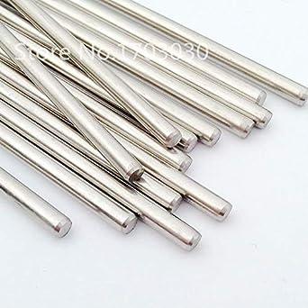 Ochoos Stainless Steel Rods Shaft Linear Rail Round Shaft Length 200mm Diameter 3mm//2mm//2.5mm//4mm//5mm 10pcs for RC Model Length: 200mm, Diameter: 5mm