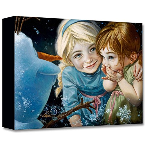 """Never Let Go"" Limited edition gallery wrapped canvas by Heather Theurer from the Disney Treasures collection; with COA."