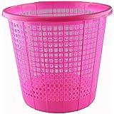 """Brights"" Waste Rubbish Bin in Basket Style for Bedroom, Bathroom & Study Office"