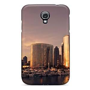 Pretty AdQXshi7480qNvYg Galaxy S4 Case Cover/ San Diego Sunset Series High Quality Case