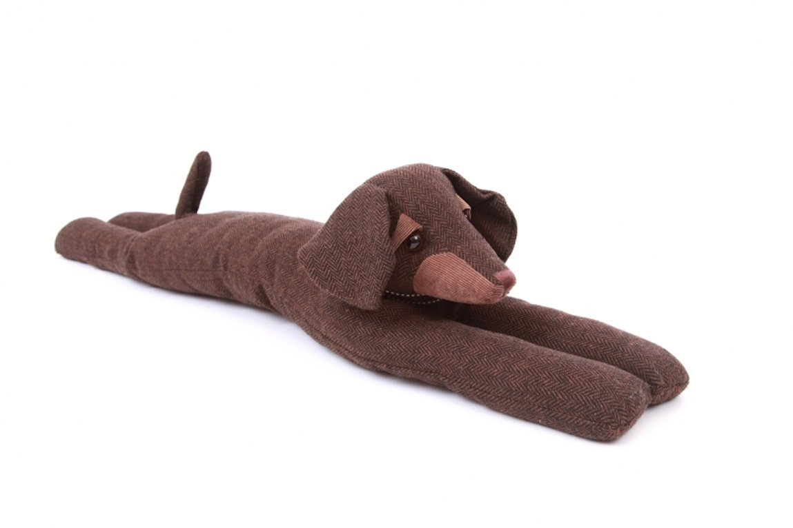 Dachshund Egbert Senior Draught Excluder Dora Designs