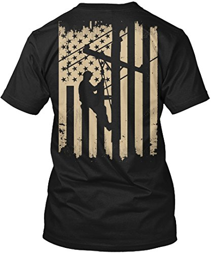 Lineman Tshirt Lineman American Flag USA Flag Lineman Tshirt for - Lineman Shirts