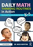 img - for Daily Math Thinking Routines in Action: Distributed Practices Across the Year book / textbook / text book