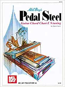 mel bay pedal steel guitar chord chart dewitt scott 9780871663702 books. Black Bedroom Furniture Sets. Home Design Ideas