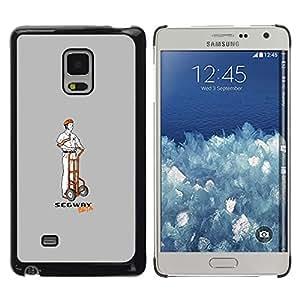 A-type Arte & diseño plástico duro Fundas Cover Cubre Hard Case Cover para Samsung Galaxy Mega 5.8 (Divertido S3Gway Beta)