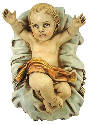 stone resin baby jesus figurine - 9