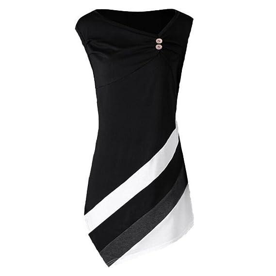 Juqilu mangas Camisas Para Mujer Moda Larga T-Shirt Round Collar Casual Blusa Elegante Tops Vestidos Ropa Tamaño grande S-5XL: Amazon.es: Ropa y accesorios