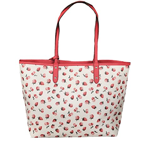 Tote City F36609 Reversible Coach Multi PVC Chalk Signature UZ8aH