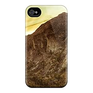 Cynthaskey Case Cover Protector Specially Made For Iphone 4/4s Canyon At Sunset