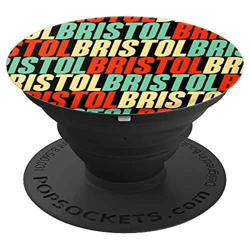 Bristol - Personalized Bristol Name Gift - PopSockets Grip and Stand for Phones and Tablets