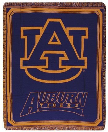 University Tigers Bedding - Simply Home Auburn University Tigers Afghan Throw Blanket 48