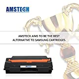 4 Pack Amstech Compatible Toner Cartridge Replacement for Dell H625cdw H625 H825 H825cdw 2825 S2825cdn Color Printer Black Toner Multifunction