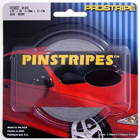 Trim Parts R20802 1/8'' X 40' Pinstripes Black by TrimParts