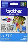 Brother LC51C Cyan Ink Cartridge - Retail Packaging