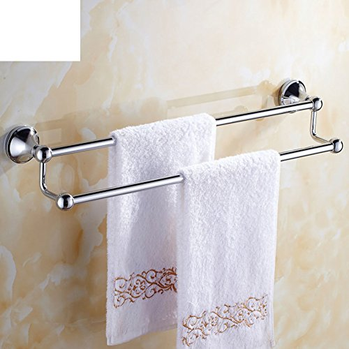 Stainless steel hollow double towel bar/ Bathroom double towel bar/Towel shelf /toilet/Bathroom accessories-A well-wreapped
