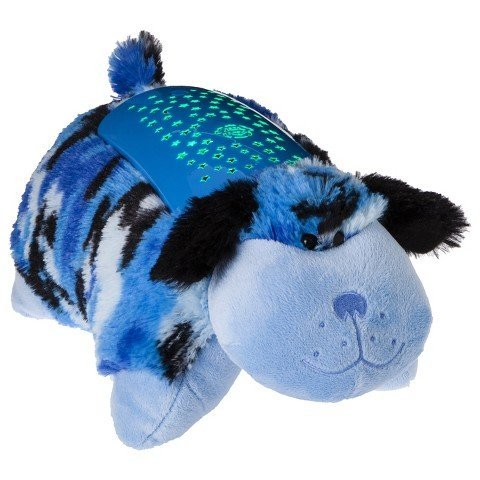 Pillow Pets Dream Lites - Blue Camo Dog 11''