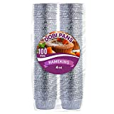 DOBI Ramekins [100 Pack - 4 oz.] - Disposable