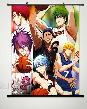 Wall Scroll Poster Fabric Painting For Anime Kuroko no Baske