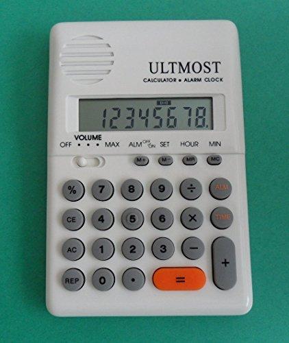 Ultmost Handheld , Pocket Talking Calculator with Alarm -...