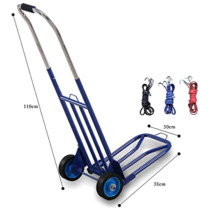9514dfc6f82f Trolley Luggage Cart Trolley Truck Pulling Truck Folding Portable ...