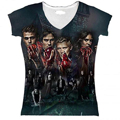 The Vampire Diaries -  T-shirt - Donna
