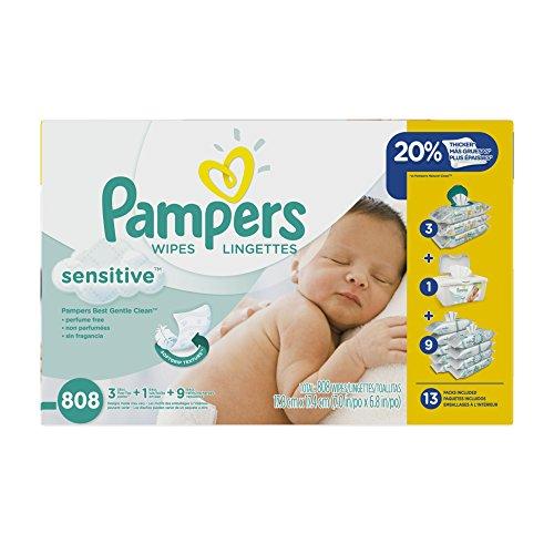 Pampers Sensitive салфетки 13x Мультипак, 808 Граф