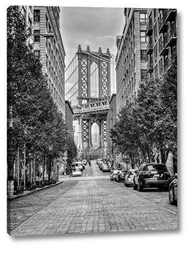 Manhattan Bridge seen from The Dumbo Neighborhood in Brooklyn, New York by Assaf Frank - 8