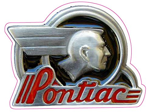 Decal Pontiac - Nostalgia Decals Old Pontiac Decal 5