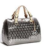 Michael Kors Large Grayson Women's Handbag 2013 30S3MGYS3Z Satchel Purse, Bags Central