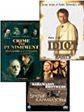 Fyodor Dostoevsky Collection (The Brothers Karamazov / Crime and Punishment / Idiot)(7 DVD NTSC)[ENGLISH SUBTITLES]