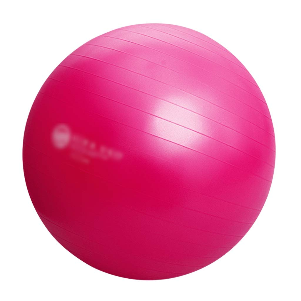 Sports Fitness Yoga Ball Thickened Explosion-Proof Fitness Ball Pregnant Woman Childbirth Sports Ball Children's Yoga Equipment Balance Ball Bouncy Ball (Load: 500kg) Exercise Ball Chairs