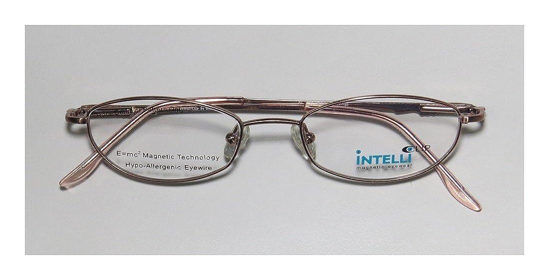 175e4455d26 Amazon.com  Elite Trendy Eyewear Intelli 750 For Ladies Women Designer Full-Rim  Shape Rhinestones Flexible Hinges Eyeglasses Eye Glasses (47-17-135