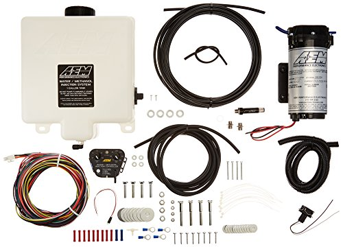(AEM (30-3300) V2 1-Gallon Water/Methanol Injection Kit with Internal MAP Sensor)