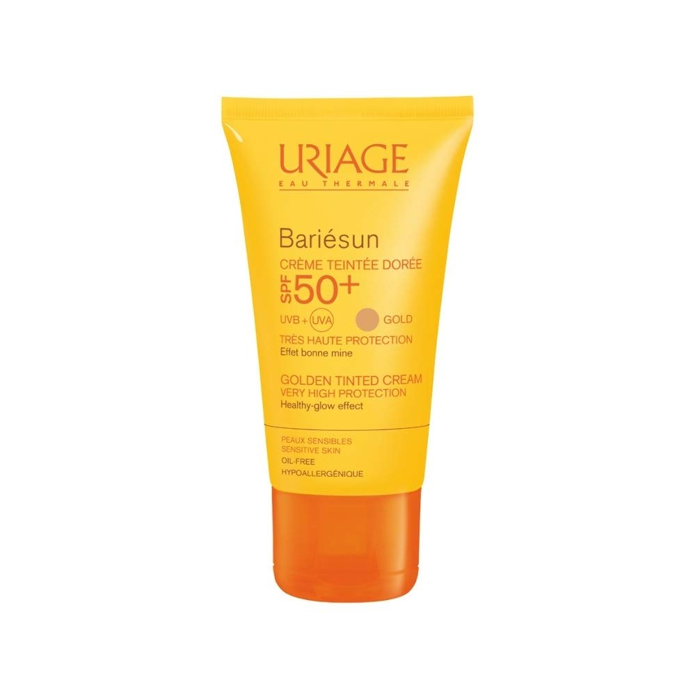 Bariesun by Uriage Eau Thermale Golden Tinted Cream For Sensitive Skin SPF50+ 50ml