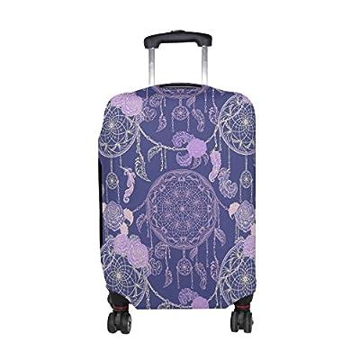 INTERESTPRINT Geometric Colorful Travel Duffel Bag Water-Proof Bag