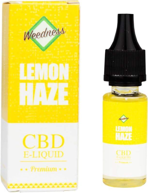 Weedness CBD Oil Super Lemon Haze 1000 MG - SIN NICOTINA Oil Liquido Encore CBD Cigarrillo Electronico Smok E Liquid Y Resistencias