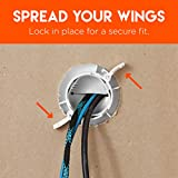 Echogear White in-Wall Cable Management Kit - Cable