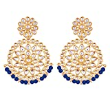 Product review for Aheli Ethnic Chandbali Dangle Earrings Beads Indian Bollywood Wedding Party Fashion Traditional Jewelry for Women