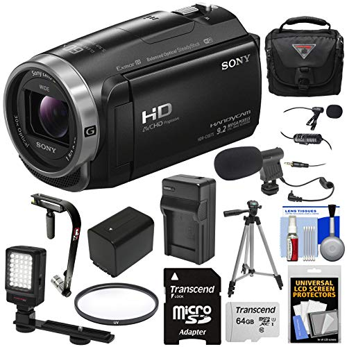 Sony Handycam HDR-CX675 32GB Wi-Fi HD Video Camera Camcorder