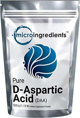 Micro Ingredients D Aspartic Powder grams