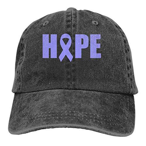 Stomach Cancer Awareness Vintage Baseball Cap Trucker Hat for Men and ()