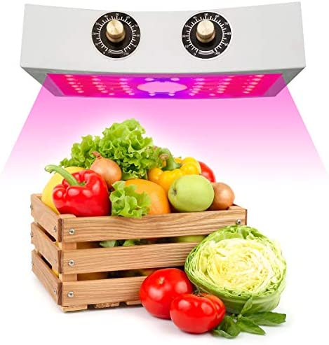 Grow Light,COB LED Grow Light 1000W,Full Spectrum with Adjustable Veg Bloom Knobs – LED Grow Lamp Double Chips LED for Indoor Plants Veg and Flower Plant Light New 2020